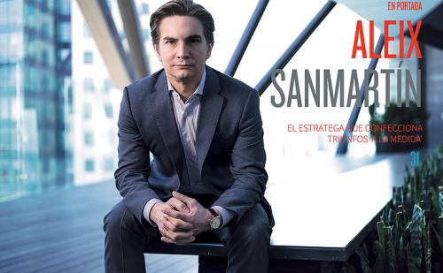Aleix Sanmartín, el hombre que confencciona estrategias 'a la medida'